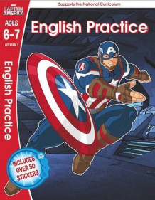 Captain America: English Practice, Ages 6-7 av Scholastic (Heftet)