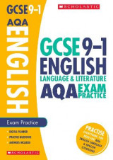 Omslag - English Language and Literature Exam Practice Book for AQA