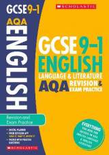 Omslag - English Language and Literature Revision and Exam Practice Book for AQA