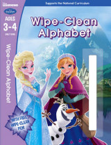 Omslag - Frozen: Wipe-Clean Alphabet Ages 3-4