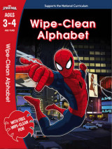 Omslag - Spider-Man: Wipe-Clean Alphabet Ages 3-4