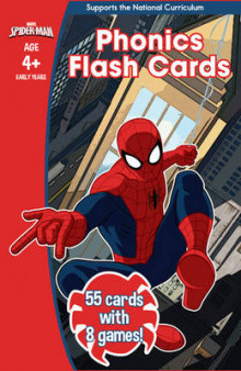 Spider-Man: Phonics Flash Cards av Scholastic (Undervisningskort)