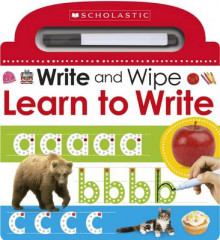 Write and Wipe: Learn to Write av Make Believe Ideas (Pappbok)