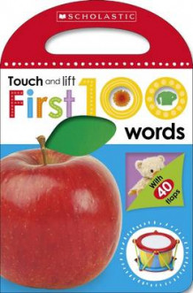 First 100 Touch and Lift: First Words av Make Believe Ideas (Pappbok)