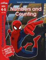 Omslag - Spider-Man: Numbers and Counting, Ages 4-5: Ages 4-5