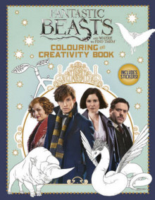 Fantastic Beasts and Where to Find Them: Colouring and Creativity Book (with Stickers) av Scholastic (Heftet)