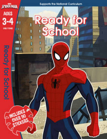 Spider-Man: Ready for School, Ages 3-4 av Scholastic (Heftet)