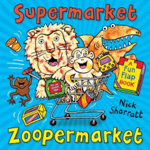 Supermarket Zoopermarket av Nick Sharratt (Heftet)