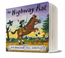 The Highway Rat av Julia Donaldson (Pappbok)