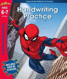 Spider-Man: Handwriting Practice, Ages 6-7 av Scholastic (Heftet)