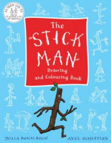 Omslag - The Stick Man Drawing and Colouring Book