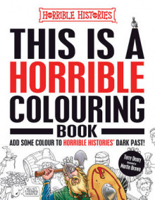 This is a Horrible Colouring Book av Terry Deary (Heftet)