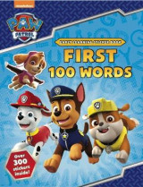 Omslag - PAW Patrol: First 100 Words Sticker Book