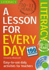 Omslag - Lesson for Every Day: Literacy Ages 10-11