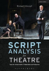 Omslag - Script Analysis for Theatre
