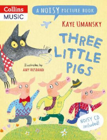 Three Little Pigs av Kaye Umansky (Blandet mediaprodukt)