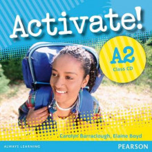 Activate! A2 Class CD av Carolyn Barraclough og Elaine Boyd (Lydbok-CD)
