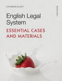 English Legal System av Catherine Elliott og Frances Quinn (Heftet)