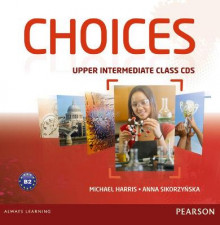 Choices Upper Intermediate Class CDs 1-6 av Michael Harris og Anna Sikorzynska (Lydbok-CD)
