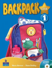 Backpack Gold Level 1 Students Book and CD Rom N/E Pack av Diane Pinkley og Mario Herrera (Blandet mediaprodukt)