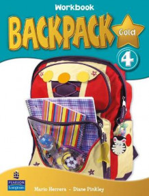 Backpack Gold: Workbook 4 av Mario Herrera og Diane Pinkley (Blandet mediaprodukt)