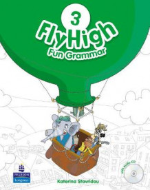 Fly High Level 3 Fun Grammar Pupils Book and CD Pack av Katherina Stavridou (Blandet mediaprodukt)