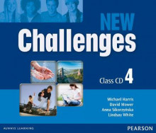 New Challenges 4 Class CDs av Michael Harris, David Mower, Anna Sikorzynska og Lindsay White (Lydbok-CD)