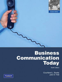 Business Communication Today with MyBusCommLab Pack av Courtland L. Bovee og John V. Thill (Blandet mediaprodukt)