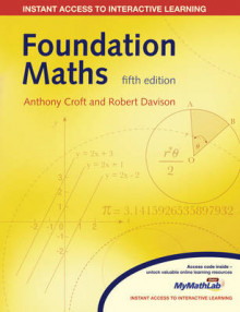 Foundation Mathematics with Global Student Access Card with Dictionary av Anthony Croft og Robert Davison (Blandet mediaprodukt)