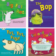 Learn to Read at Home with Phonics Bug: Pack 2 (Pack of 4 fiction books) av Jeanne Willis, Emma Lynch og Nicola Sandford (Heftet)