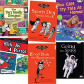 Learn to Read at Home with Bug Club: Gold Pack (Pack of 6 reading books with 4 fiction and 2 non-fiction) av Sheila May Bird, Michaela Morgan, Diana Noonan, Carmel Reilly og Sheryl Webster (Heftet)