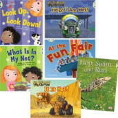 Learn at Home:Learn to Read at Home with Bug Club: Pink Pack featuring Trucktown (Pack of 6 reading books with 4 fiction and 2 non-fiction) av Catherine Baker, Margaret Clyne, Alison Hawes, Diana Noonan og Jon Scieszka (Blandet mediaprodukt)