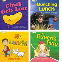 Learn to Read at Home with Phonics Bug: Pack 4 (Pack of 4 Reading Books with 3 Fiction and 1 Non-Fiction) av Jill Atkins, Emma Lynch og Alison Hawes (Heftet)