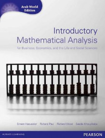 Introductory Mathematical Analysis for Business, Economics and Life and Social Sciences (Arab World Editions) with MathXL av Ernest F. Haeussler, Richard S. Paul, Richard J. Wood og Saadia Khouyibaba (Blandet mediaprodukt)