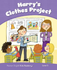 Level 5: Harry's Clothes Project CLIL av Marie Crook (Heftet)