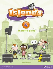 Islands Level 4 Activity Book Plus Pin Code av Sagrario Salaberri (Blandet mediaprodukt)