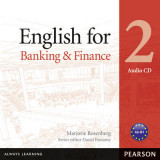 Omslag - English for Banking Level 2 Audio CD