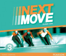 Next Move 3 Class Audio CDs av Jayne Wildman og Fiona Beddall (Lydbok-CD)