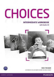 Choices Intermediate Workbook & Audio CD Pack av Rod Fricker (Blandet mediaprodukt)