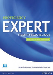 Expert Proficiency Student's Resource Book with Key av Megan Roderick, Carol Nuttall og Nick Kenny (Heftet)