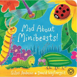 Omslag - Mad About Minibeasts!