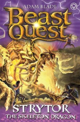 Omslag - Strytor the Skeleton Dragon: Series 19 Book 4