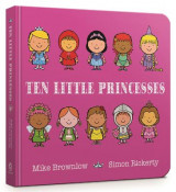 Omslag - Ten Little Princesses