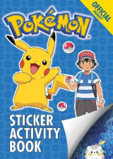 Omslag - The Official Pokemon Sticker Activity Book