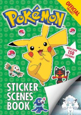 Omslag - The Official Pokemon Sticker Scenes Book