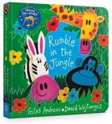 Rumble in the Jungle av Giles Andreae (Pappbok)