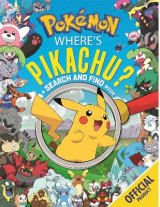 Omslag - Where's Pikachu? A Search and Find Book