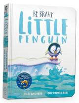 Omslag - Be Brave Little Penguin Board Book