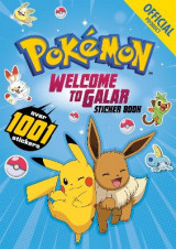 Omslag - Pokemon Welcome to Galar 1001 Sticker Book