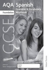 Omslag - AQA GCSE Spanish Foundation Grammar and Vocabulary Workbook Pack